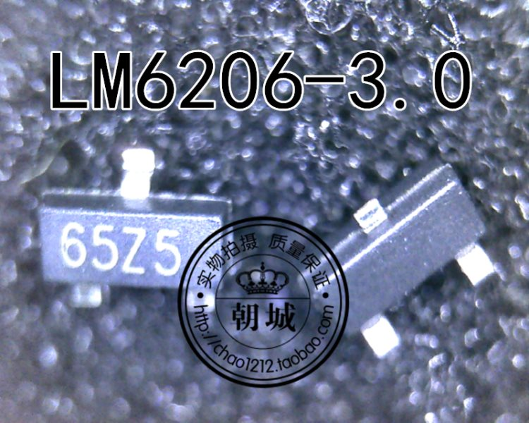 LM6206-3.0 N3 LM6206 65ZB 652B