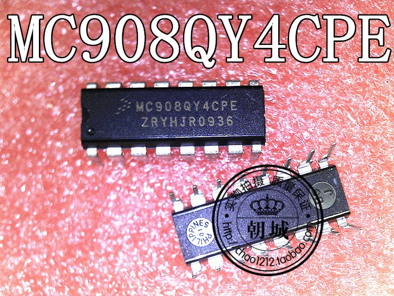insert chip MC908QY4CPE DIP16 small controller