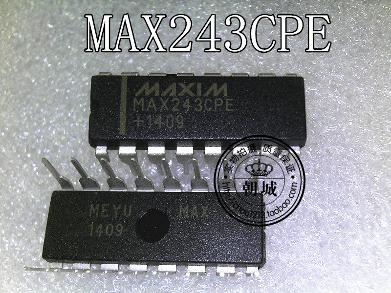 integrated circuit MAX243CPE DIP IC face brand-n