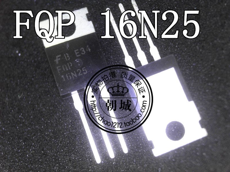 One TO-220 FQP16N25
