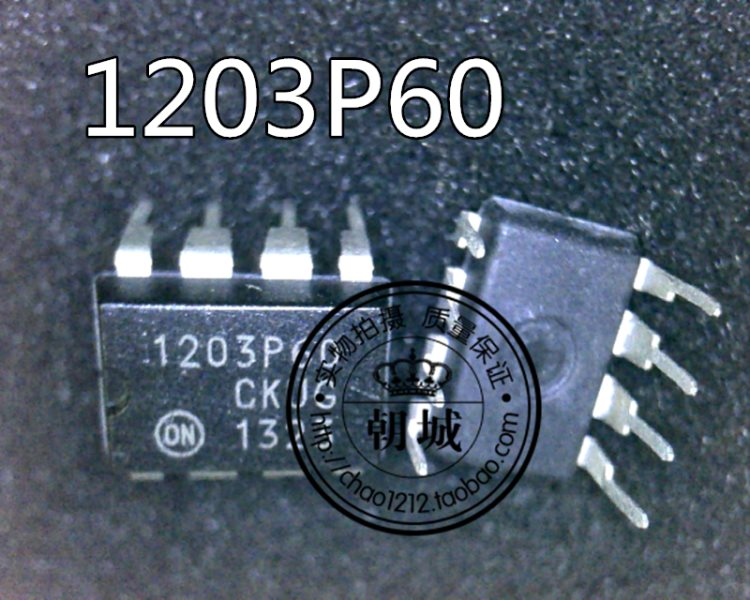 1203P60 DIP-8 inserts power source 8 feet liquid crystal chip board report source control