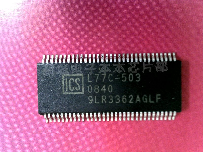ICS9LR3362AGLF ICS9LR3362CGLF ICS9LPRS3362CGLF makes work only