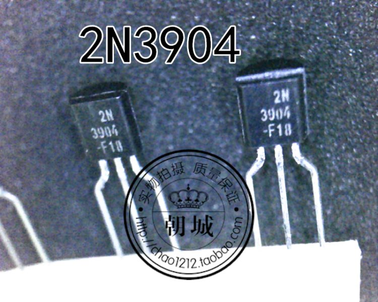 2N3904 3904 dynatron encloses TO92