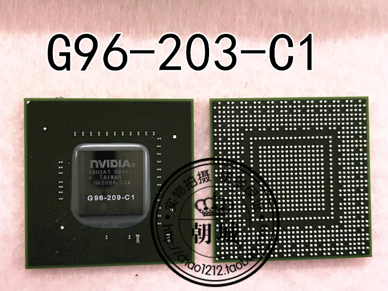 G96-203-C1 assembles the chip that show clip BGA