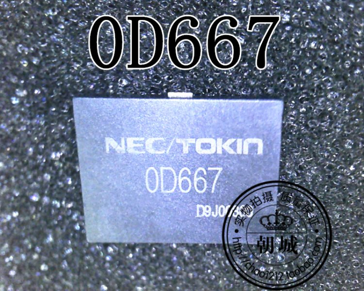 NEC/TOKIN OD667 large electric capacity solve TOSHIBA jotter drop electric common fault