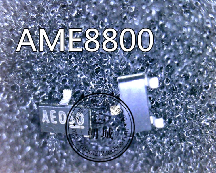 AME8800AEETZ/3.3V code: AYoung foot ED50 AME8800 AAA66