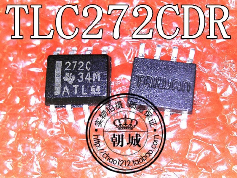 stick an operation amplifier 272C TLC272CDR SOP8 imports quality