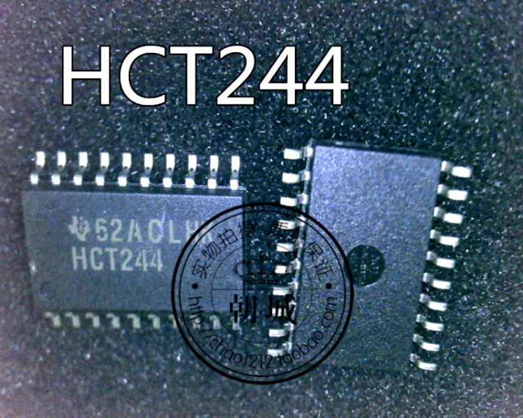 Chip logic number logistic parts an apparatus 74HCT244D HCT244 SOP7.2