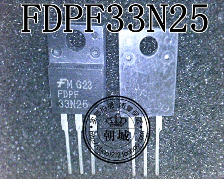 sells field effect in charge 33A 250V raceway groove FDPF33N25 33N25 N enclose TO-220