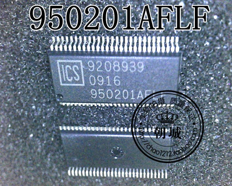 Brand shop sincere letter IC inventory ICS950201AFLF sell!