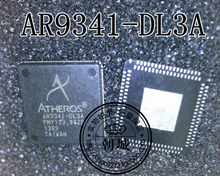 Wireless road by implement chip AR9341-DL3A QFN enclosed