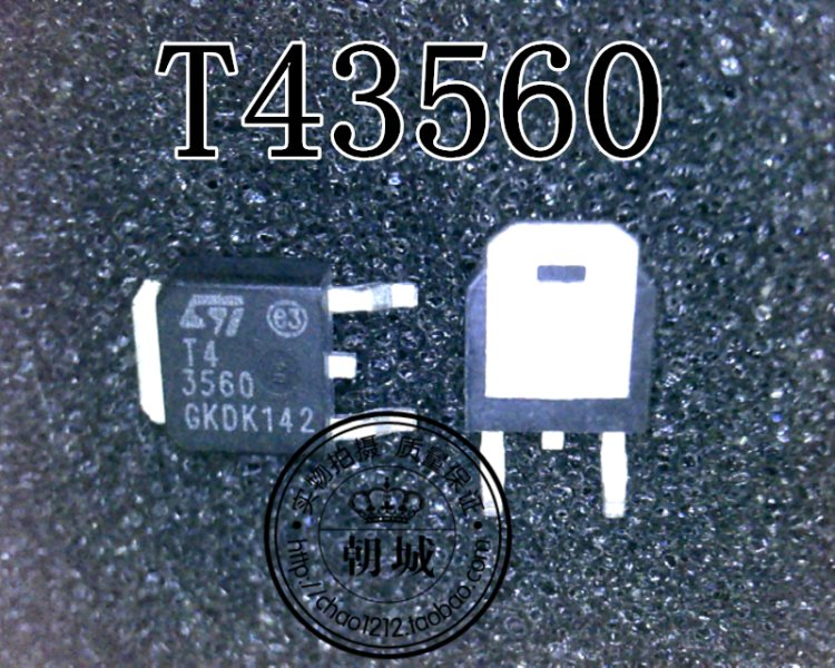 ST T435600BTR T43560 TO-252
