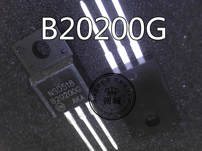 B20200G MBRF20200CTG TO-220