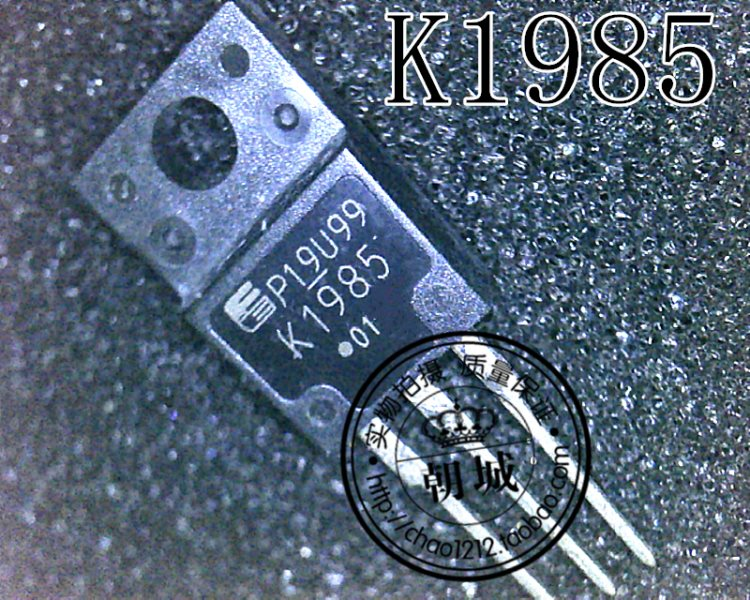 2SK1985 K1985 TK12A50D K12A50D K12A500 TO-220F 3 o