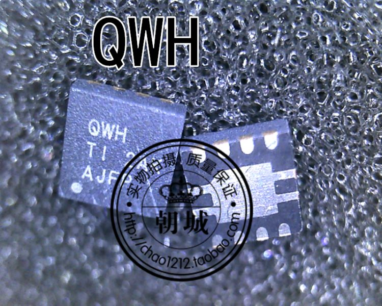 TPS73515DRBR silk imprints QWH QFN encloses stabilized voltage chip