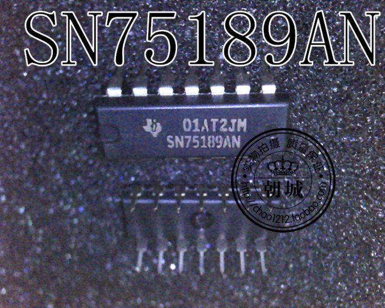 Insert interface driver IC SN75189AN SN75189