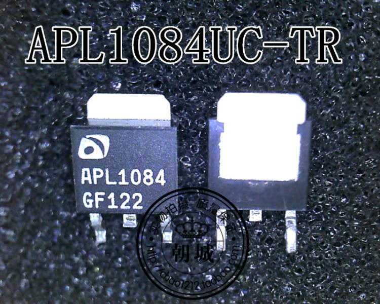 Stick an APL1084UC-TR APL1084 chip stabilized voltage IC enclose TO-252
