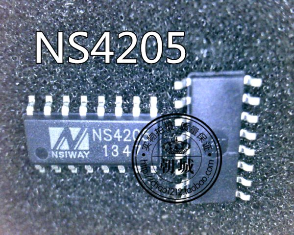 Foot two sides NS4205 stick piece