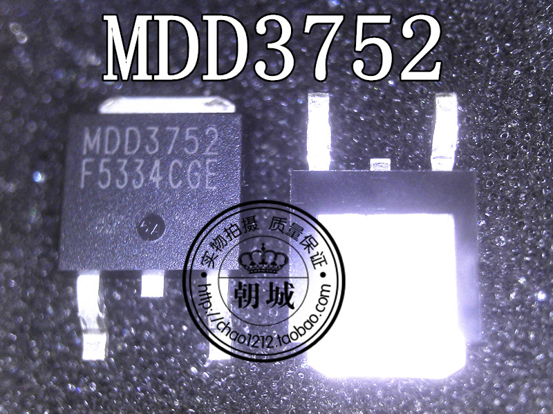 Liquid crystal MDD3752-RH MDD3752 TO-252 commonly used a the canal but straight