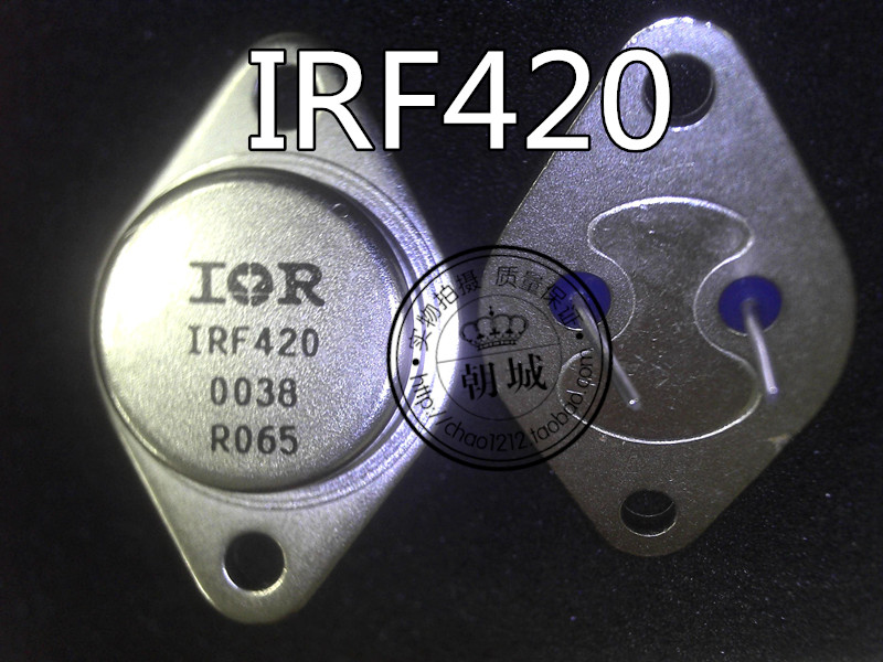 Metal IRF420 encloses an effect in charge TO-3 iron cap dynatron enclose F420