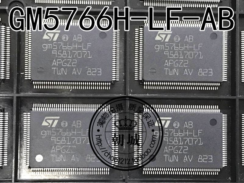 Drive ST liquid crystal board chip GM5766H-LF-AB QFP-128