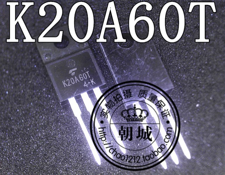 K20A60T 20A 600V TO-220F