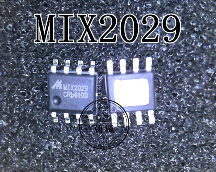MIX2029 SOP-8 amplifier frequency assonance odd track F