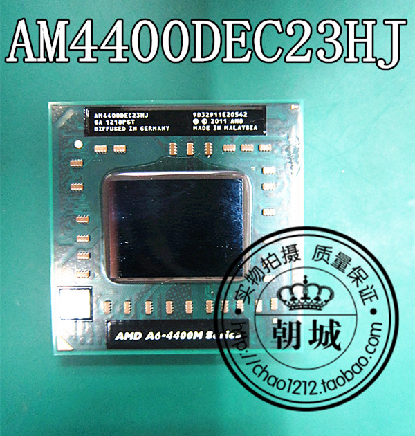 AM4400DEC23HJ A6-4400 AMD