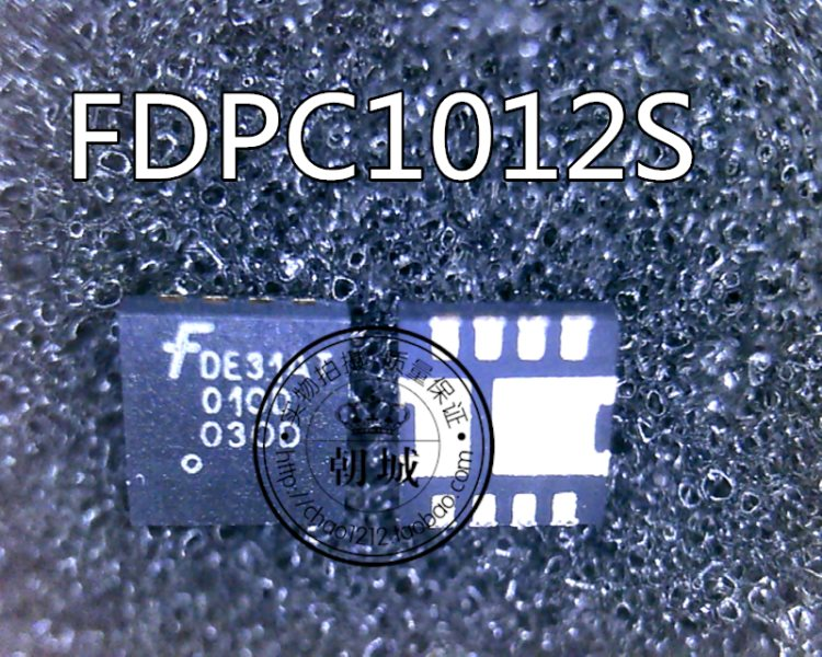 FDPC1012S silk imprints code ED31AT 010D O3OD QFN enclosed