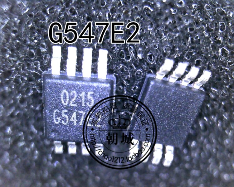 G547E2P81U G547E2 MSOP-8 and SOP-8 enclose two kinds