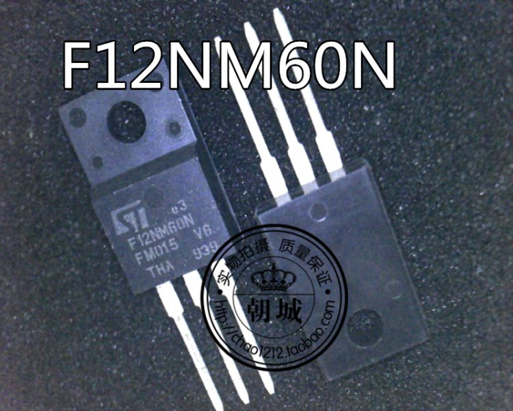 F12NM60N STF12NM60N TO-220F