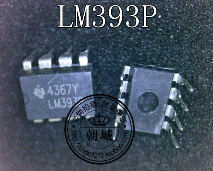LM393P inserts DIP8