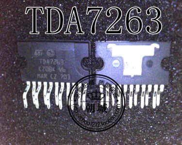 Audio result puts integrated circuit TDA7263 since