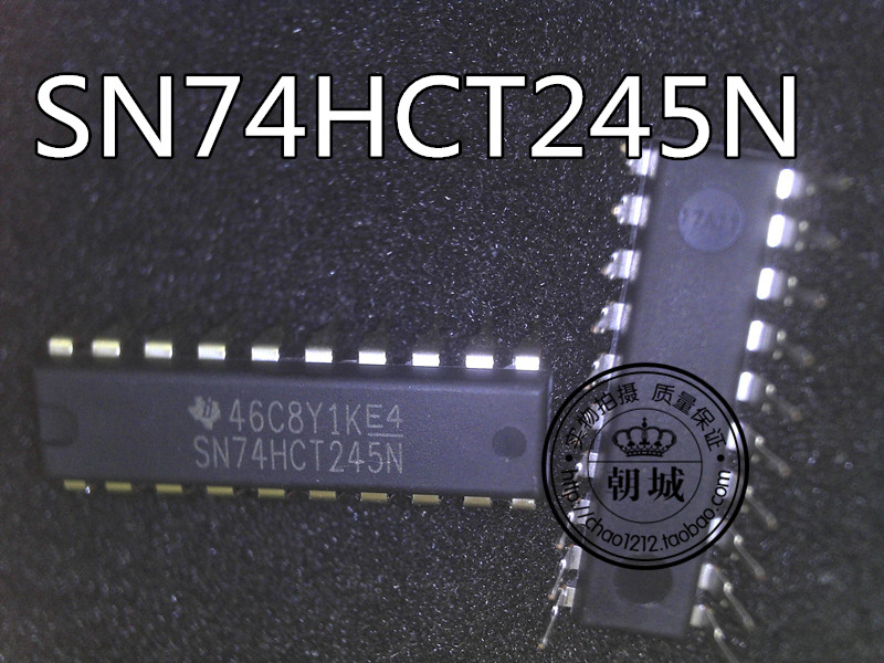 insert IC integrated circuit SN74HCT245N 74HCT245N DIP-20