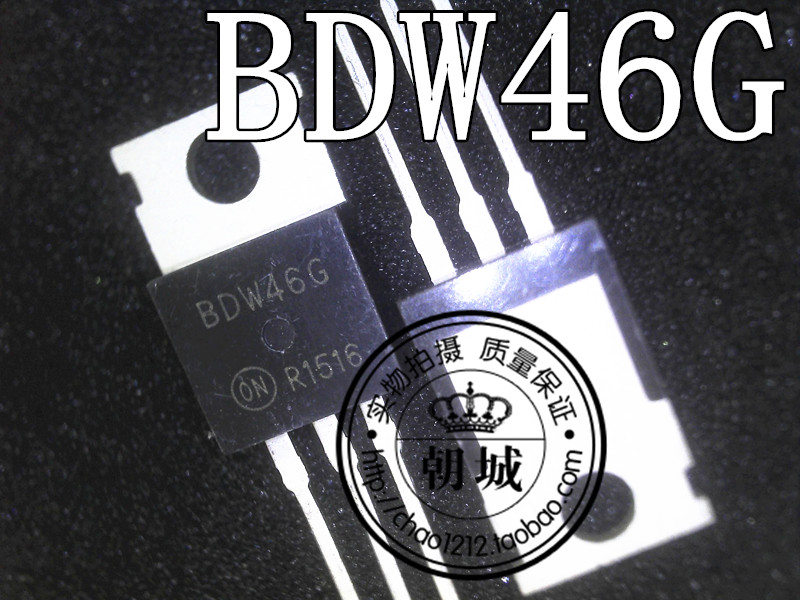 BDW46G TO220 inserted