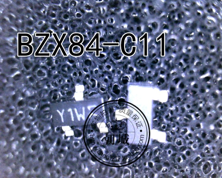 BZX84C11 BZX84-C11 11V Y1 stabilized voltage dynatron sticks a SOT-23